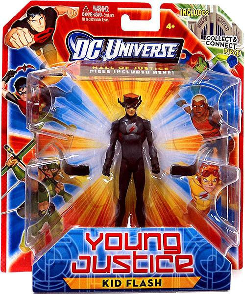 DC Universe Young Justice Kid Flash Action Figure [Stealth]
