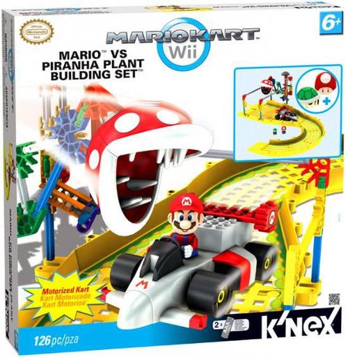 K'NEX Super Mario Mario Kart Wii Mario vs Piranha Plant Set #38468