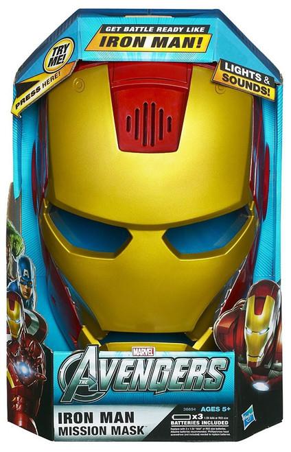Marvel Avengers Iron Man Mission Mask