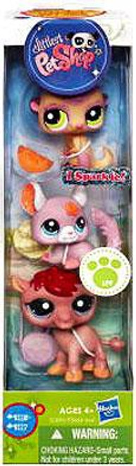 Littlest Pet Shop Meerkat, Chinchilla & Camel Figure 3-Pack #9115 - 9117