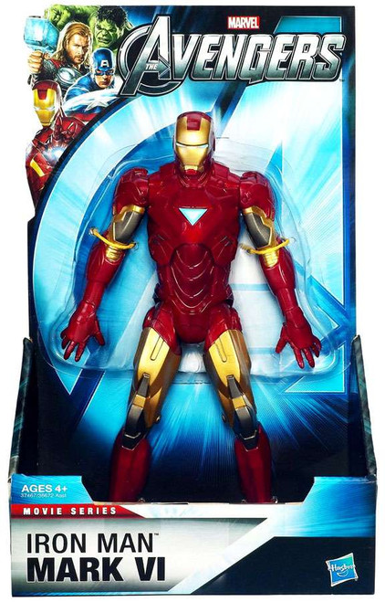 Marvel Avengers Movie Series 8 Inch Iron Man Mark VI Action Figure