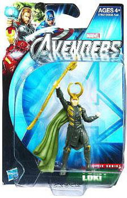 Marvel Avengers Movie Series Loki Action Figure
