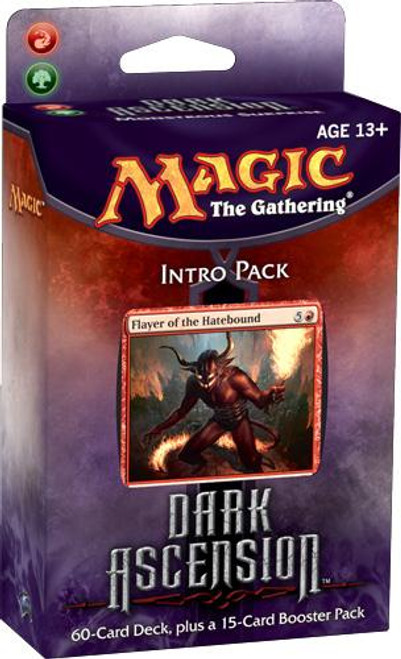 MtG Trading Card Game Dark Ascension Monstrous Surprise Intro Pack