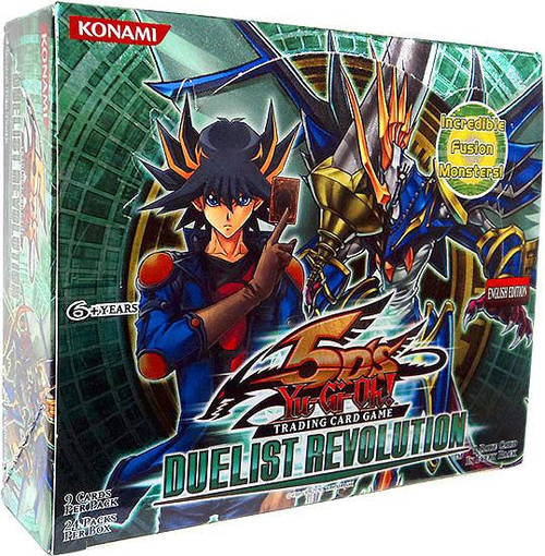 YuGiOh Trading Card Game Duelist Revolution Booster Box [24 Packs]