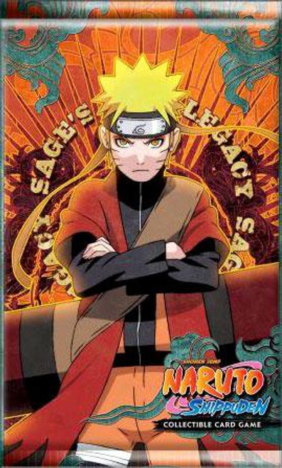 Naruto Shippuden Card Game Sage's Legacy Booster Pack