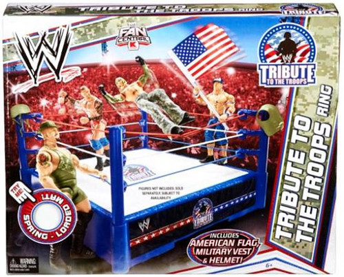 WWE Wrestling Tribute To The Troops Exclusive Superstar Ring