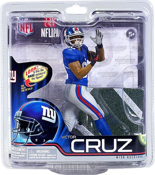 McFarlane Toys NFL New York Giants Sports Picks Series 31 Victor Cruz Action Figure [Blue Jersey]