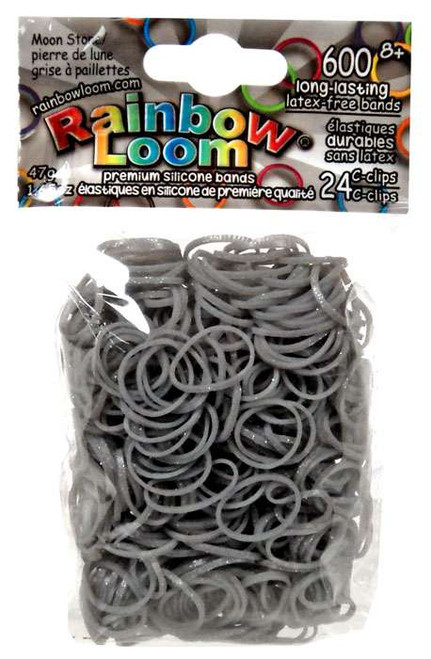 Rainbow Loom Moon Stone Rubber Bands Refill Pack [600 ct]