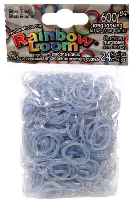 Rainbow Loom Blue Ice Rubber Bands Refill Pack [600 Count]
