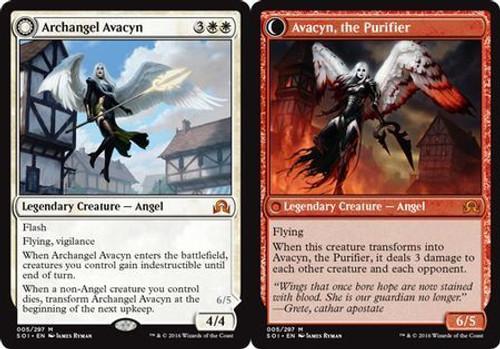 MtG Shadows Over Innistrad Mythic Rare Archangel Avacyn / Avacyn, the Purifier #5