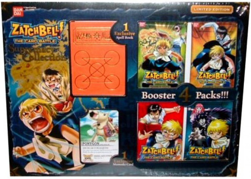 Zatch Bell Card Battle Game Supremacy Collection Ponygon Limited Edition Box Set