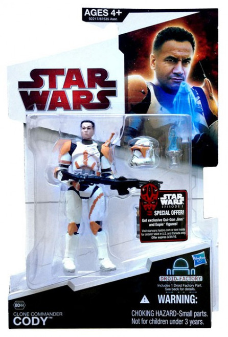Star Wars Revenge of the Sith 2009 Legacy Collection Droid Factory Clone Commander Cody Action Figure