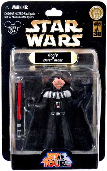 Star Wars Star Tours 2007 Goofy as Darth Vader Exclusive Action Figure