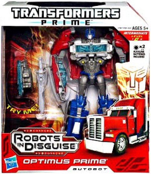 Transformers Robots in Disguise Optimus Prime Voyager Action Figure