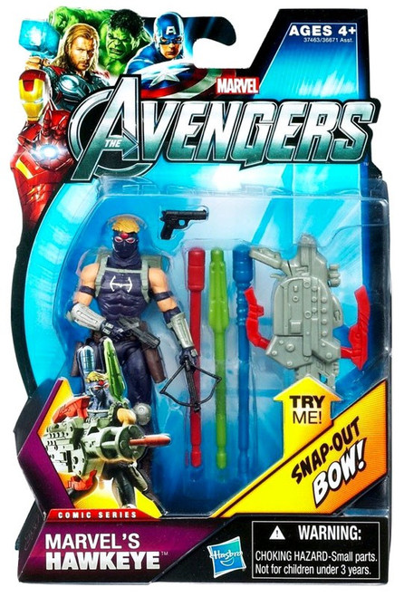 Avengers Comic Series Marvel's Hawkeye Action Figure [Masked]