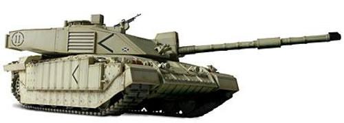 Forces of Valor 1:72 Enthusiast Series Vehicles U.K. Challenger II Tank [Baghdad]