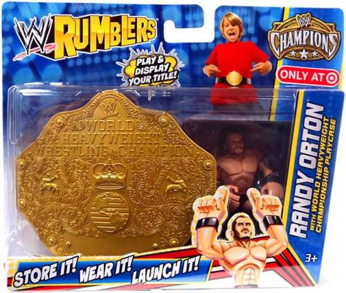 WWE Wrestling Rumblers Champions Randy Orton Exclusive Mini Figure