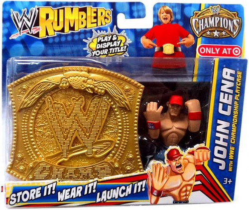 WWE Wrestling Rumblers Champions John Cena Exclusive Mini Figure