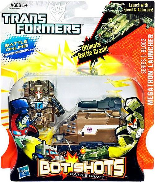 Transformers Bot Shots Battle Game Series 1 Megatron Launcher Action Figure BL002