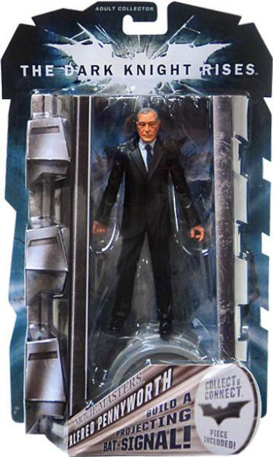 Batman The Dark Knight Rises Projecting Bat Signal Series Alfred Pennyworth Action Figure