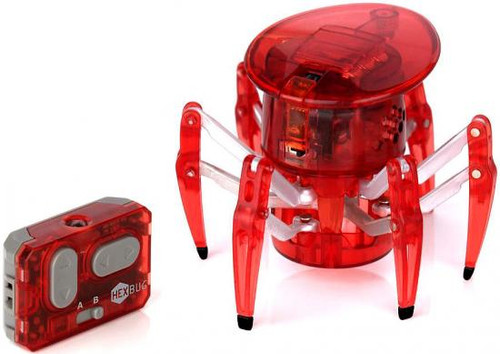Hexbug Micro Robotic Creatures Spider [Red]