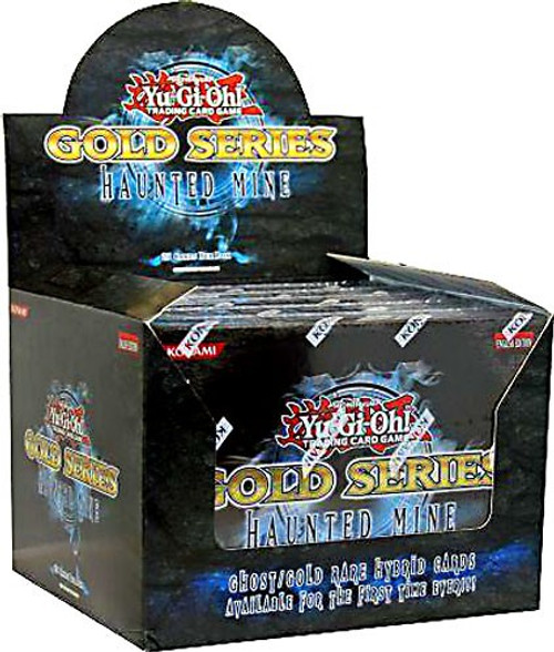 YuGiOh Trading Card Game Gold Series 5 Haunted Mine Booster Box [5 Packs]