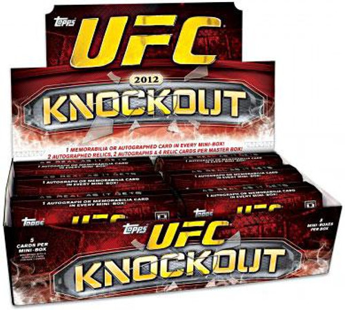UFC Ultimate Fighting Championship 2012 Knockout Trading Card Box