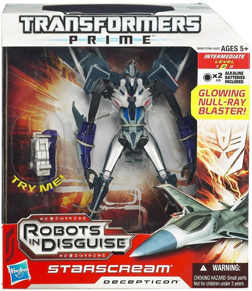 Transformers Prime Robots in Disguise Starscream Voyager Action Figure