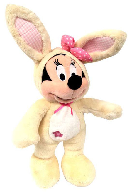 Disney 2012 Easter Minnie Mouse Exclusive 14-Inch Plush [Vanilla Bunny Costume]