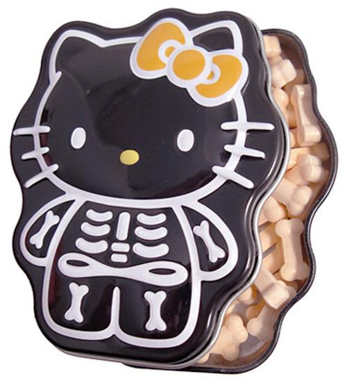 Hello Kitty Sour Orange Skelly Bones Candy Tin