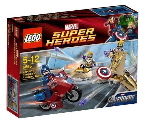 LEGO Marvel Super Heroes Avengers Captain America's Avenging Cycle Set #6865