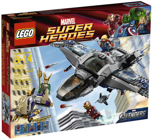 LEGO Marvel Super Heroes Avengers Quinjet Aerial Battle Set #6869