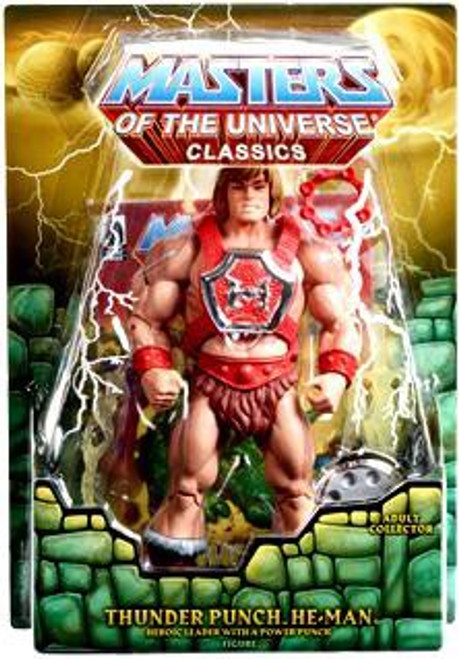 Masters of the Universe Classics Club Eternia He-Man Exclusive Action Figure [Thunder Punch]