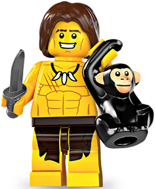 LEGO Minifigures Series 7 Jungle Boy Minifigure [Loose]
