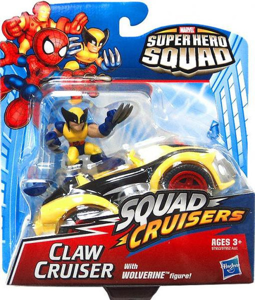 Marvel Super Hero Squad Claw Cruiser Action Figure Set