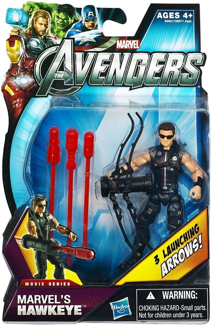 Avengers Movie Series Marvel's Hawkeye Action Figure [Sunglasses]