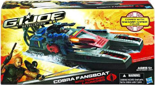 GI Joe Retaliation Cobra Fangboat Action Figure Vehicle