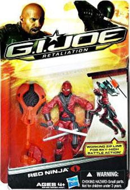 GI Joe Retaliation Red Ninja Action Figure