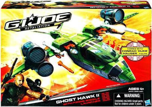GI Joe Retaliation Ghost Hawk II Action Figure Vehicle