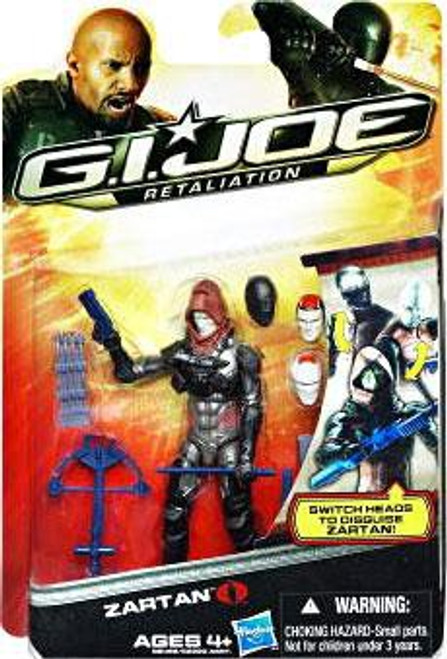 GI Joe Retaliation Ultimate Zartan Action Figure