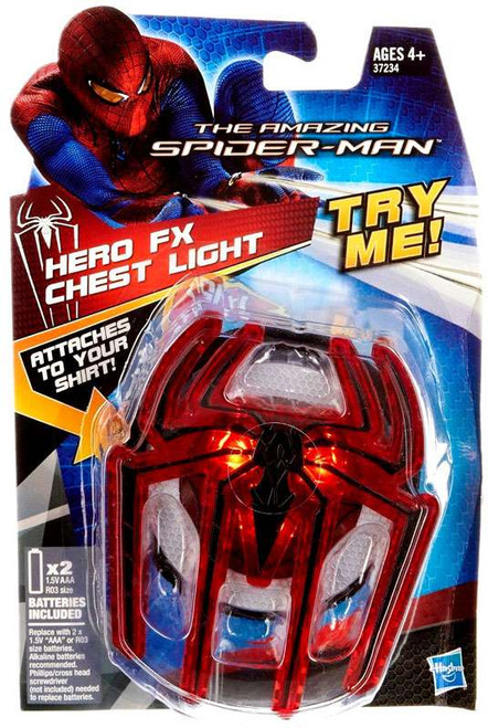 The Amazing Spider-Man Spidey Sense Chest Light Roleplay Toy