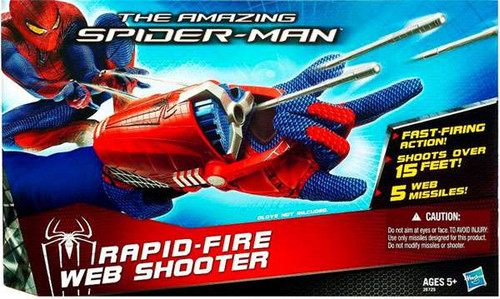 The Amazing Spider-Man Rapid Fire Web Shooter Roleplay Toy