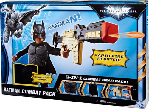 The Dark Knight Rises Batman Combat Pack Roleplay Toy