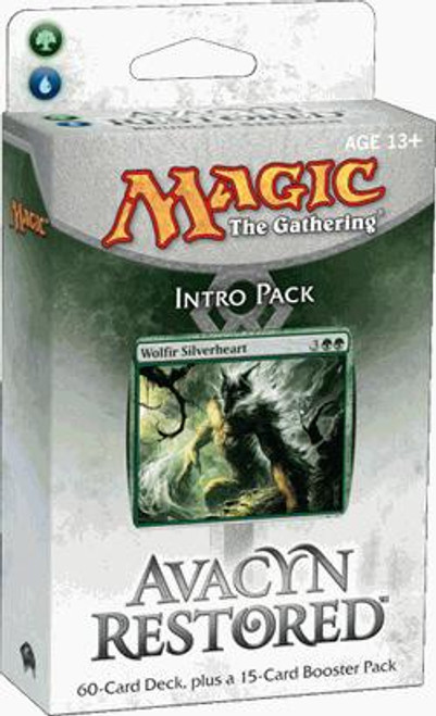 MtG Trading Card Game Avacyn Restored Bound by Strength Intro Pack