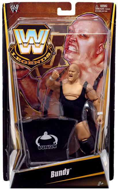 WWE Wrestling Legends Bundy Exclusive Action Figure