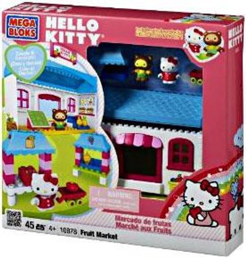 Mega Bloks Hello Kitty Fruit Market Set #10878