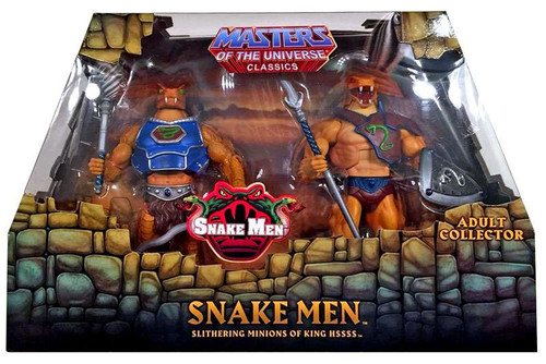 Masters of the Universe Classics Snake Men Exclusive Action Figure 2-Pack