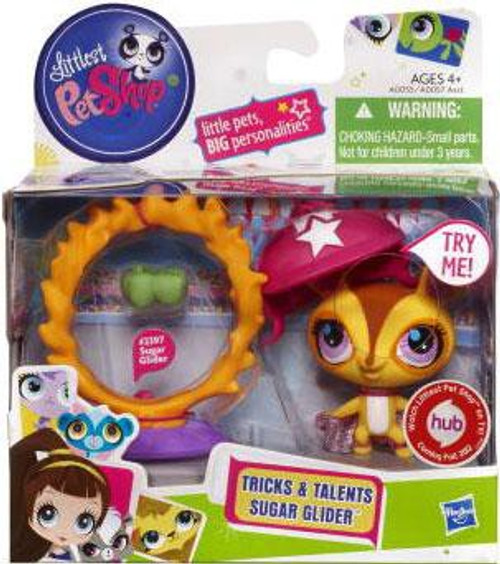 Littlest Pet Shop Tricks & Talents Sugar Glider Figure #2397