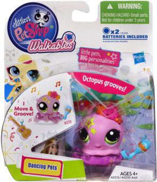 Littlest Pet Shop Walkables Dancing Pets Octopus Figure