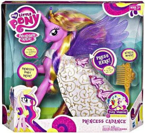 My Little Pony Friendship is Magic Pony Wedding Princess Cadance Figure